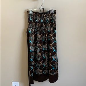 🌟6/$20 Tube dress with halter strap Sz M